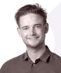 Dennis Hoog Antink is toezichthouder bij Pro-sent in Amsterdam